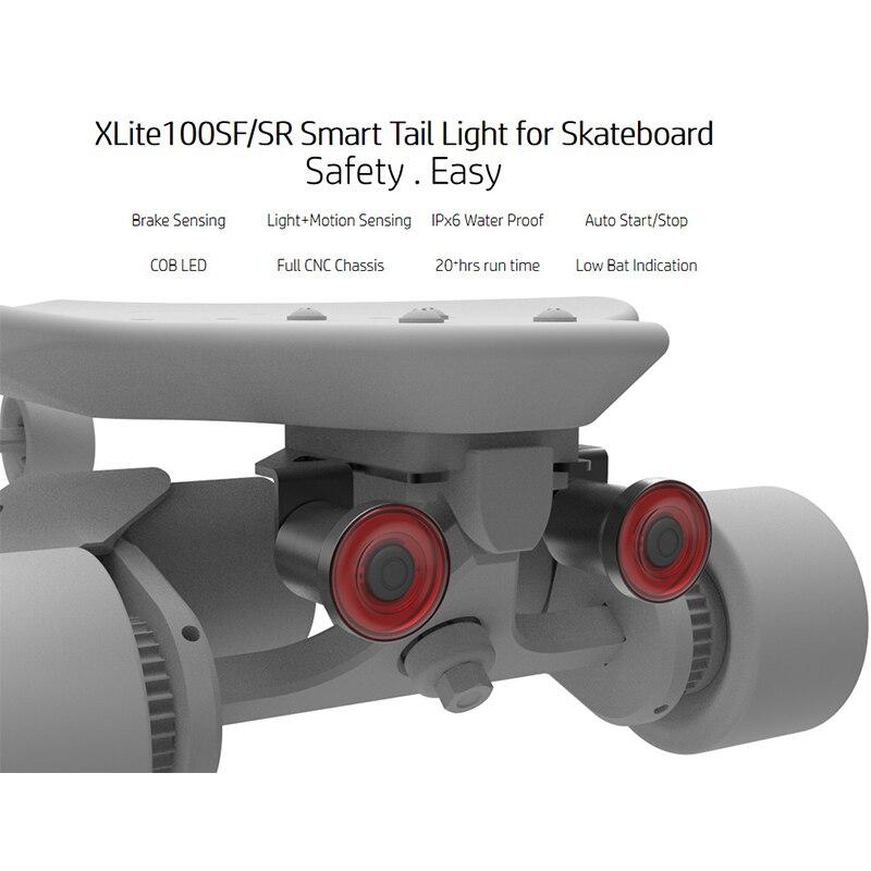 Электрический мотороллер фара и задний фонарь скейтборд Смарт USB зарядка задний фонарь Аксессуары для скутера