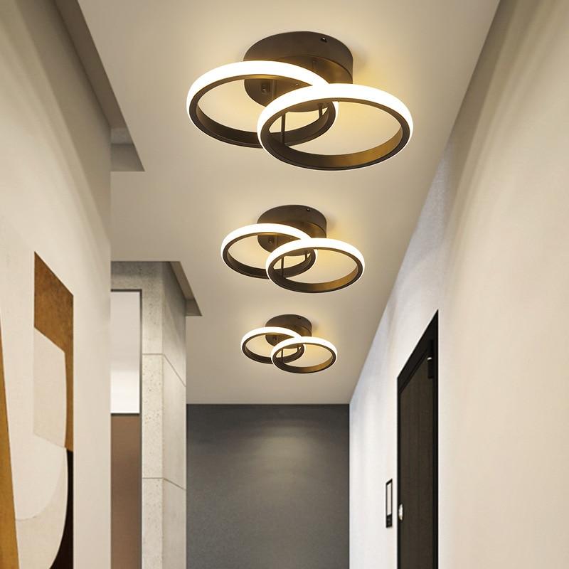 nordico moderno conduziu a luz de teto para corredor quarto sala estar restaurante