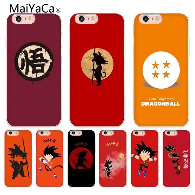 KETAOTAO dragon ball chibi son goku for iPhone SE 5C 5S 6 6S 7 8 Plus X XR XS MAX Phone Cases transparent Soft TPU Cover Cases