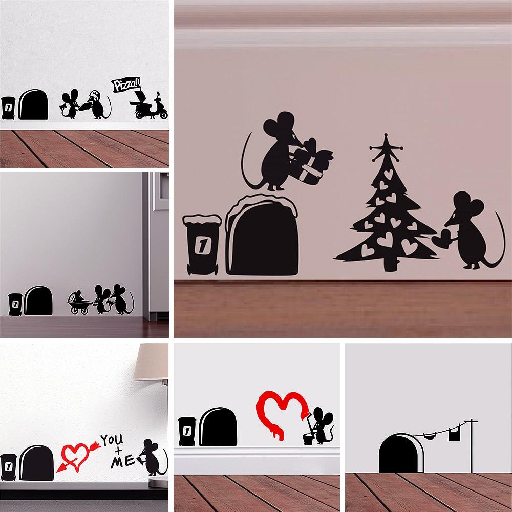 Pegatinas de pared de vinilo para decoración del hogar, papel tapiz decorativo...