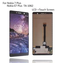Original Display Für Nokia 7 Plus 7 Plus LCD Display Touch Screen TA-1062 LCD Digitizer Replacment für Nokia e7 Plus LCD Display