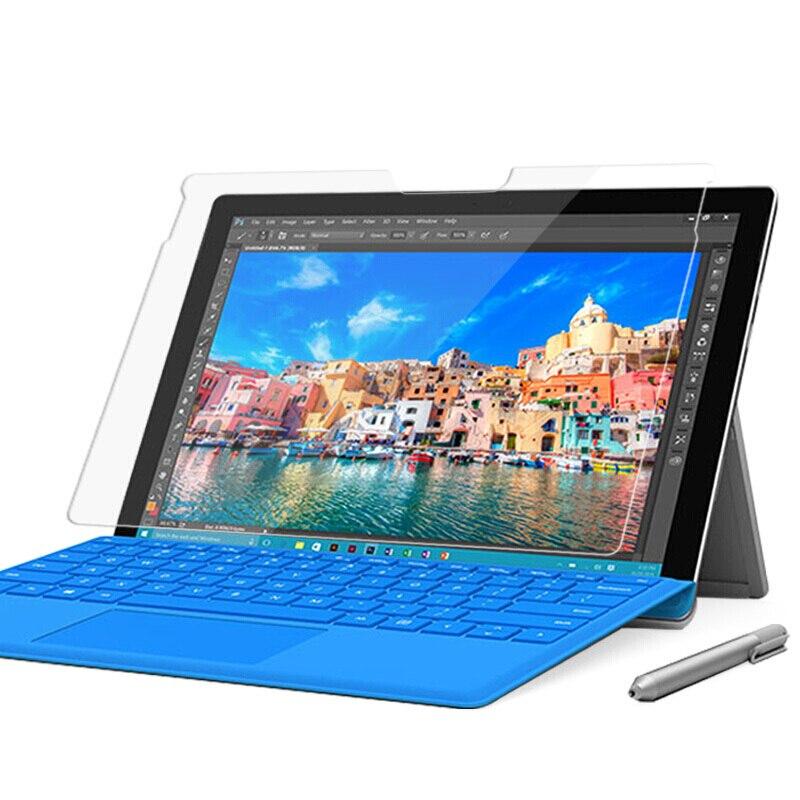 Vidro Temperado Para Microsoft Surface 10.8 Pro 6 2.5D Pro 5 Pro 4 Pro 1 Pro 2 RT2 Pro 3 RT3 12.3 Pro3 Pro7 Pro Protetor de Tela 7