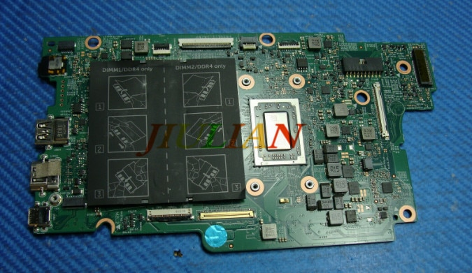 "Computador portátil mainboard CN-0K6D95 para dell inspiron 7375 13.3 ""ryzen 5-2500u placa-mãe k6d95 0k6d95 testado ok"