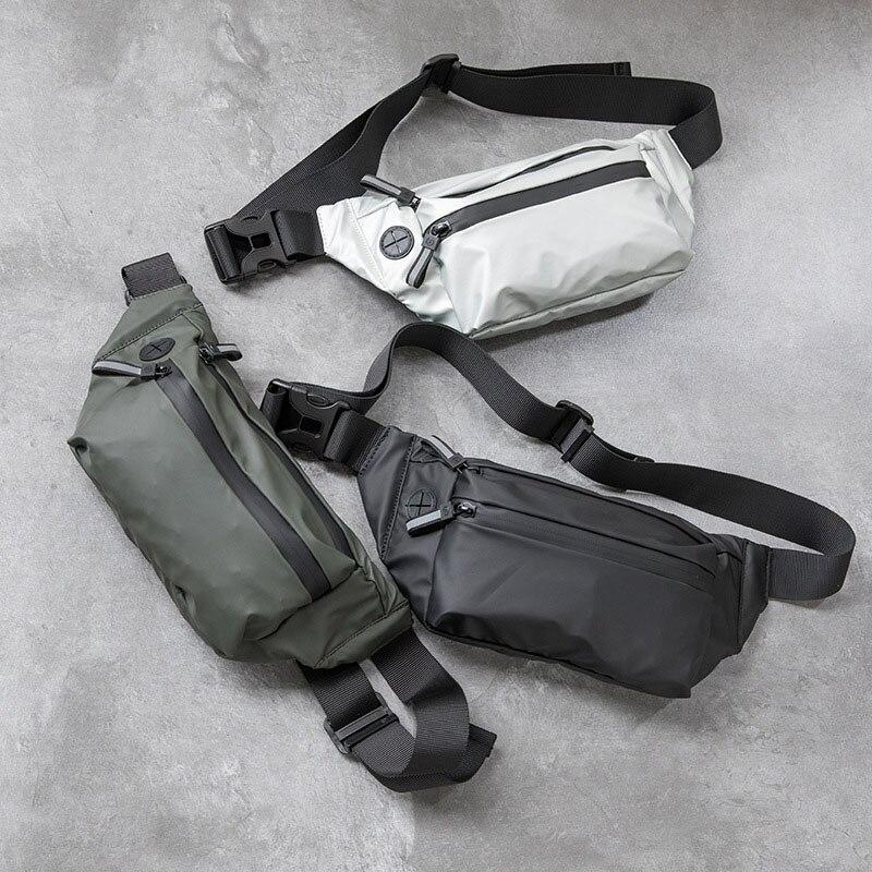 Waterproof Woman Waist Bag Fanny Pack Fashion Chest Pack Outdoor Crossbody Bag Large Capacity Uni Belt Bags Hip Waist Packs