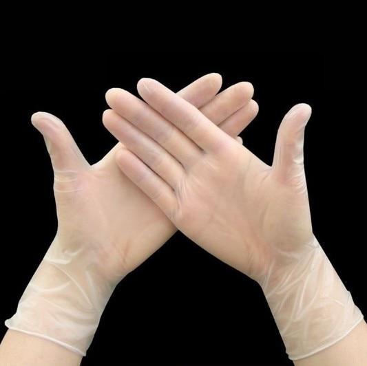 Одноразовые пищевые пластиковые перчатки 100 шт., кухонные принадлежности для ресторана, барбекю, праздничные принадлежности