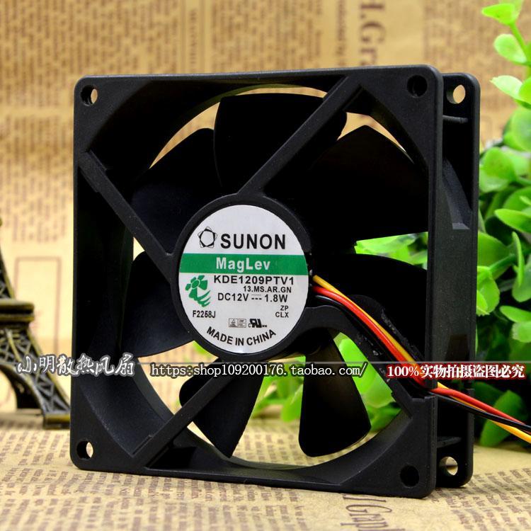 MARCA ORIGINAL NOVO 90*90*25 MILÍMETROS Ventilador De Refrigeração KDE1209PTV1 AGE09225B24U M35519-51 DYTB0925B2S 3610ML-05W-B49 3610VL-05W-B59