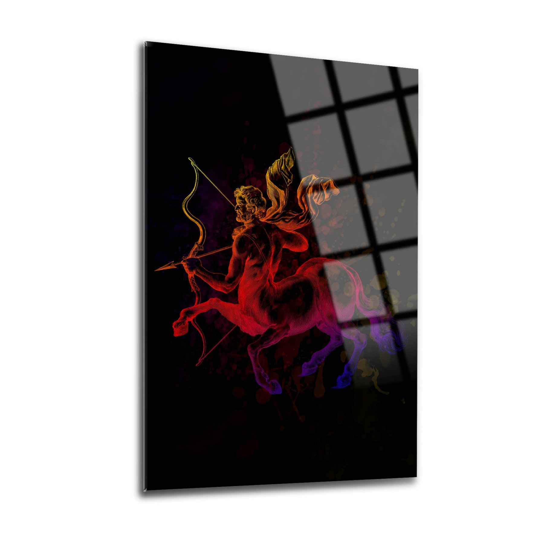 قسط جودة الزجاج جدار الفن ماستر | الثلاثي | الزجاج جدار الفن ديكور المنزل الديكور الزجاج جدار الفن ، المتضخم مكتب الجدار الديكور