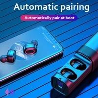 tg909 2021 new mini dual channel bluetooth headset tws in ear earplug wireless stereo
