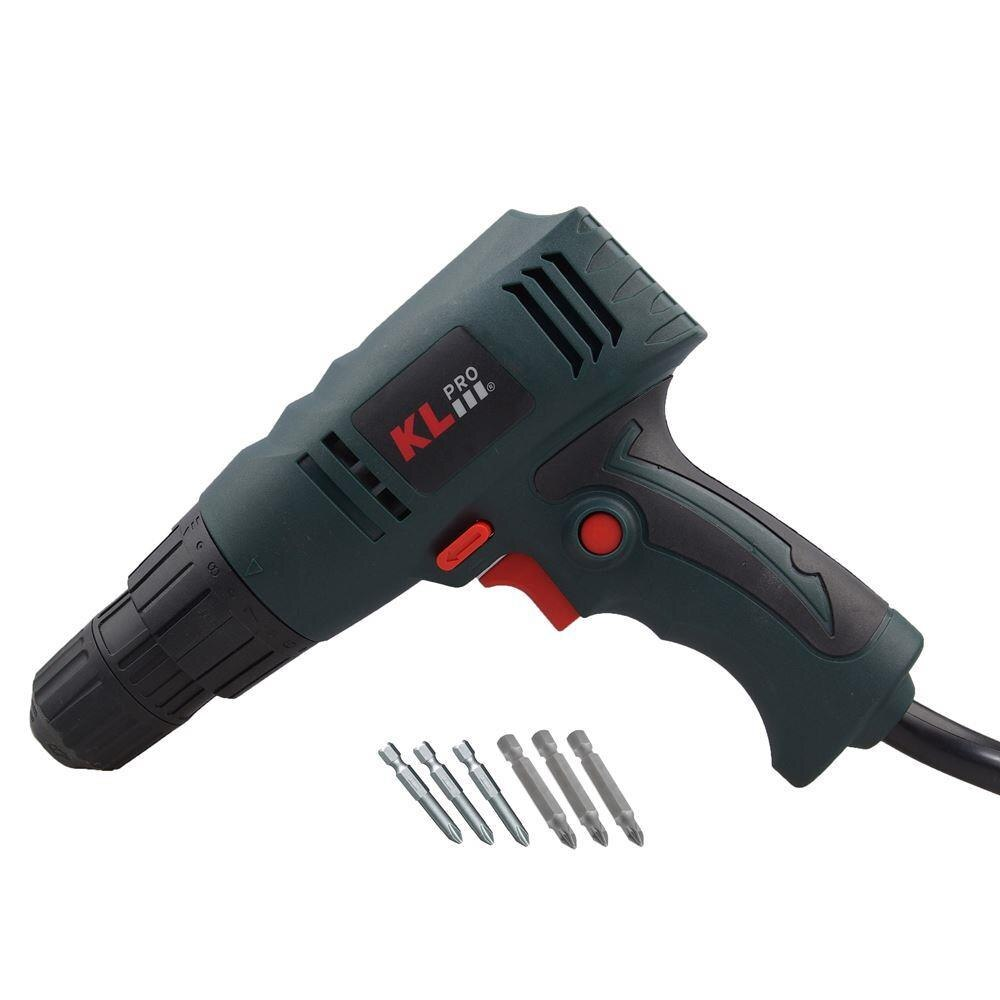 KLPRO KLNM1008 260Watt 10mm Professional Shockless Torque Adjustable Drill