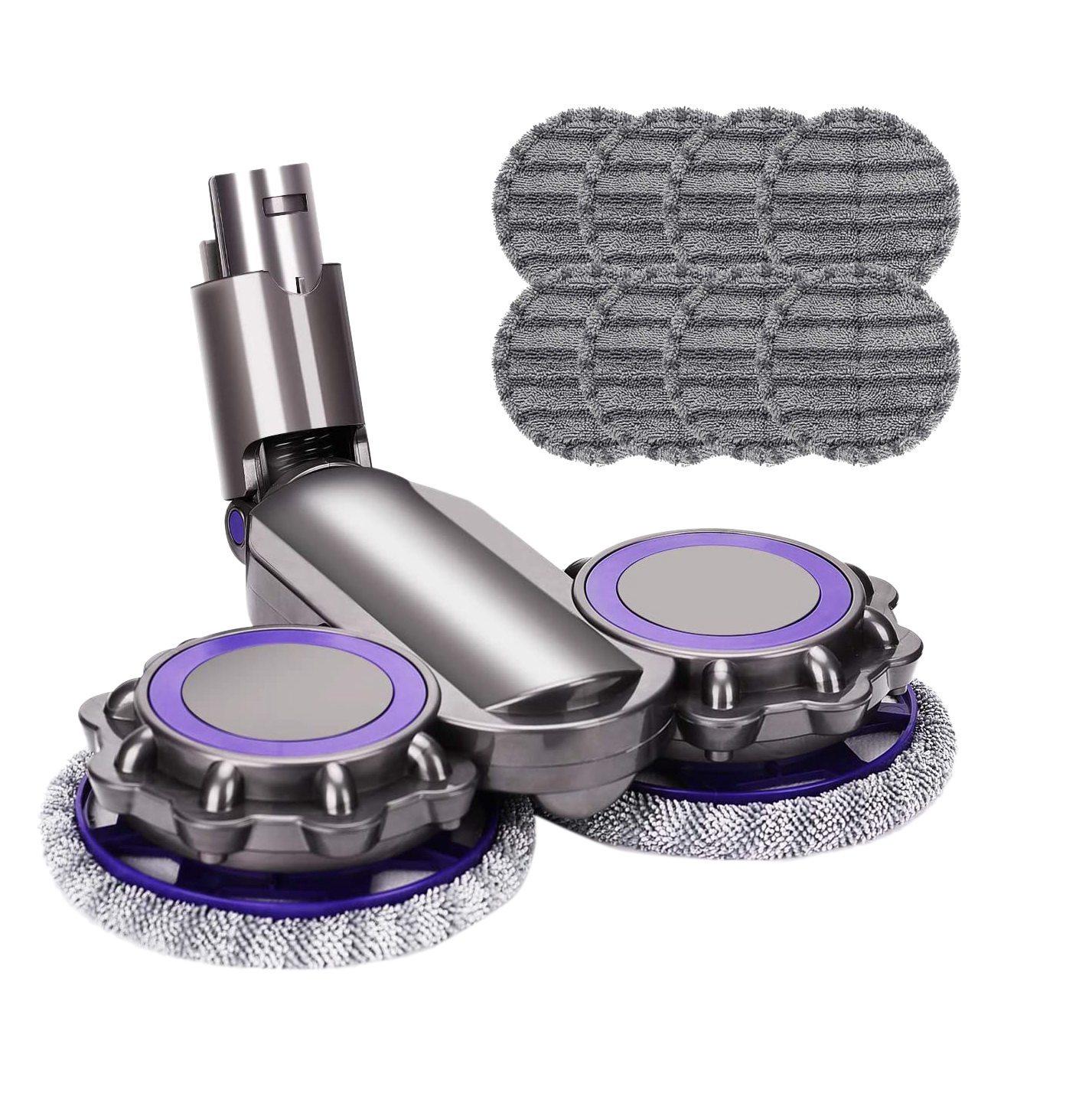 رأس ممسحة خزان المياه القماش ل Dyson V6 V7 V8 V10 V11 استبدال أجزاء مكنسة كهربائية الملحقات الجاف/الرطب الصبح 11 قطعة