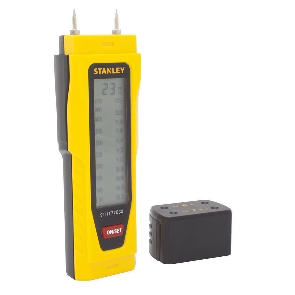 STANLEY St077030 Moisture Meter, Brick, Concrete and Wood Moisture Meter Device