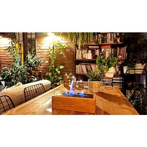 Декоративный камин, настольный нагреватель с биоэтанолом, огнеупорный нагреватель для дома, офиса, отеля, ресторана, в нордическом стиле, бе...