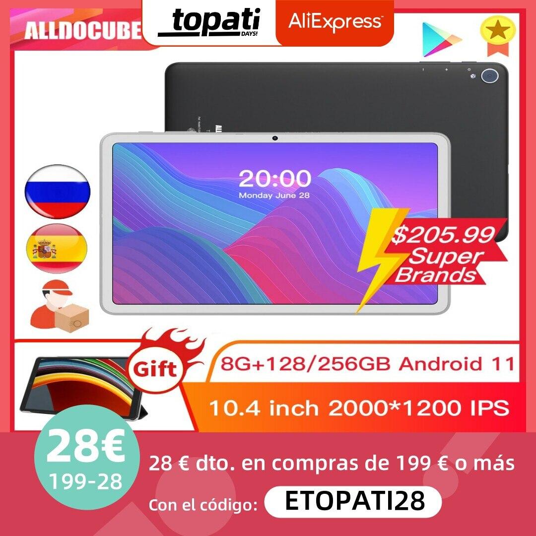 Alldocube iplay40 H /iPlay 40 Pro كمبيوتر لوحي أندرويد 11 8GB RAM 128GB/256GB ROM 10.4 2K شاشة Unisoc T618 المزدوج 4G SIM 5G واي فاي