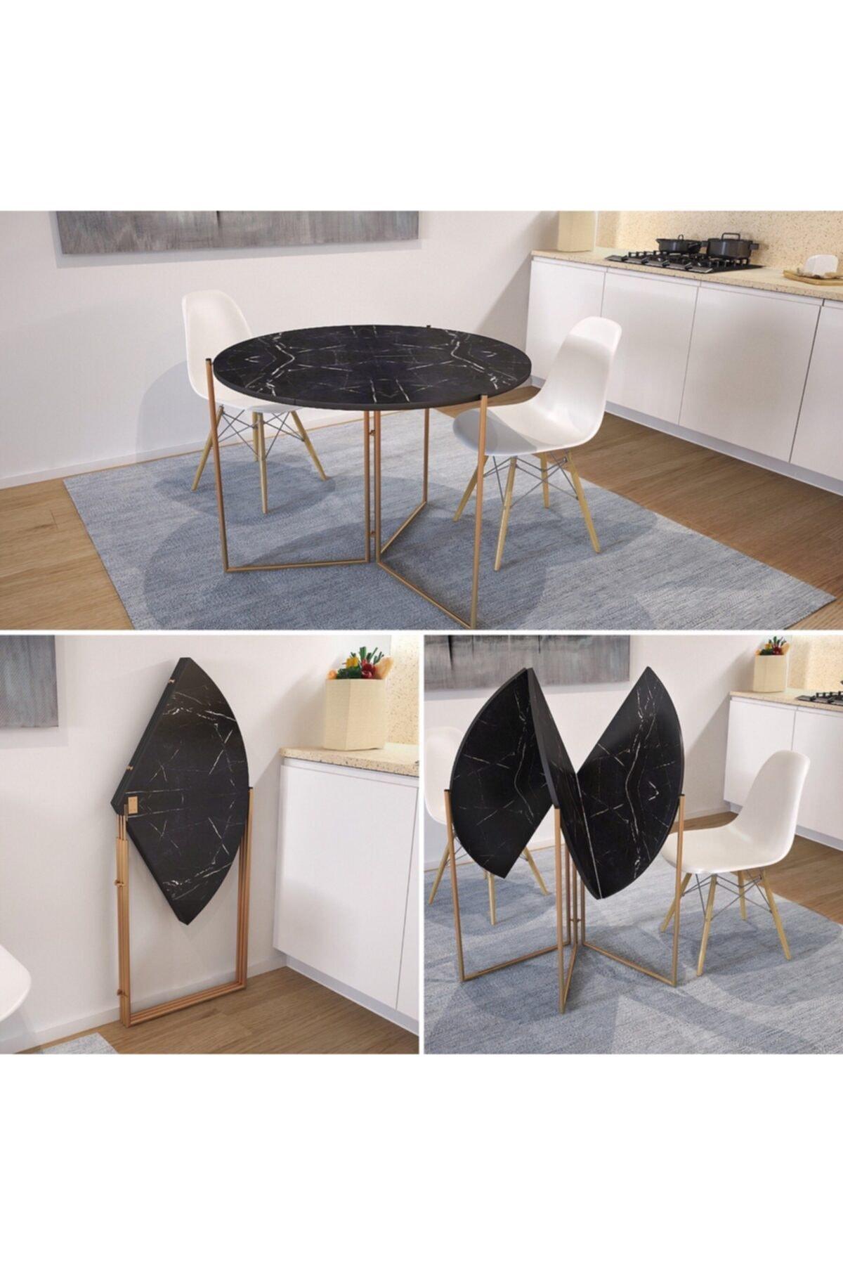 طاولة طعام قابلة للطي تصميم خاص طاولة طعام 80 سنتيمتر
