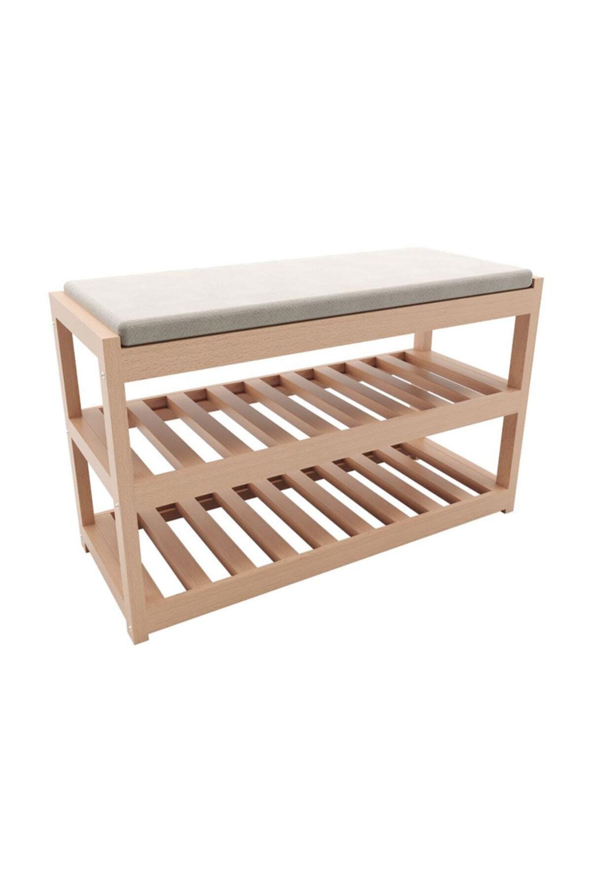 upper Double Shelf Wood Shoe Upper Sedate Solid Wood Minderli Shoe Upper