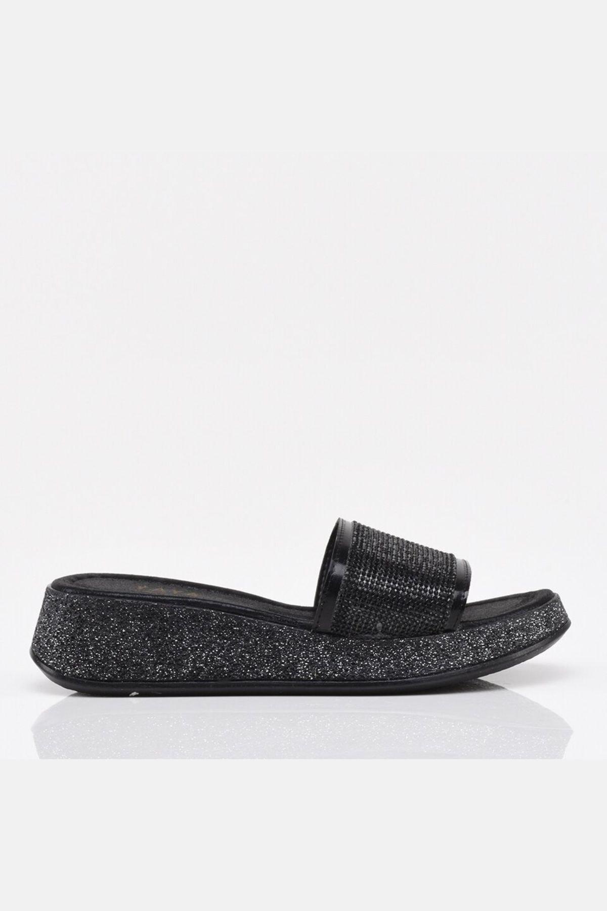 النساء الصنادل السوداء للمشاة s و الصيف داخلي في الهواء الطلق الوجه يتخبط الشاطئ حذاء الإناث النعال منصة عادية