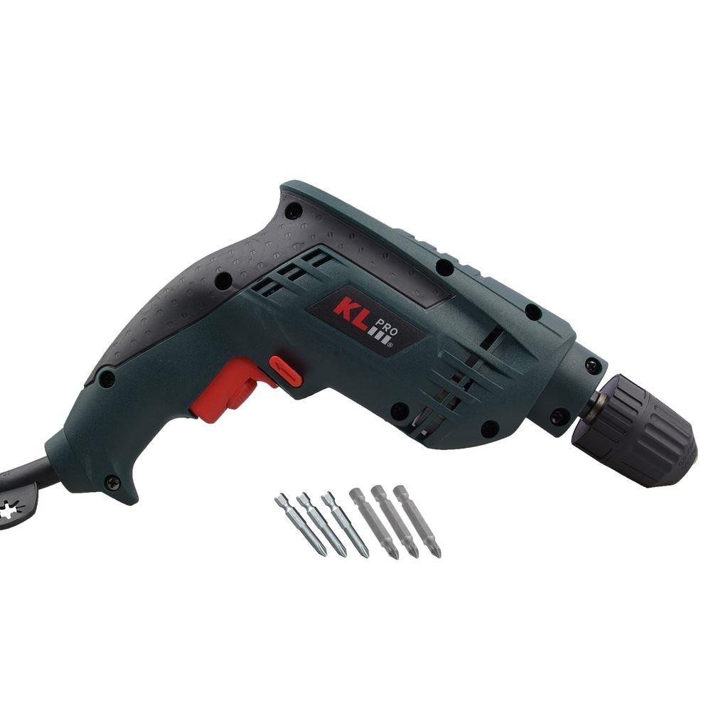 KLPRO KLNM1002 600Watt 10mm Professional Shockless Drill