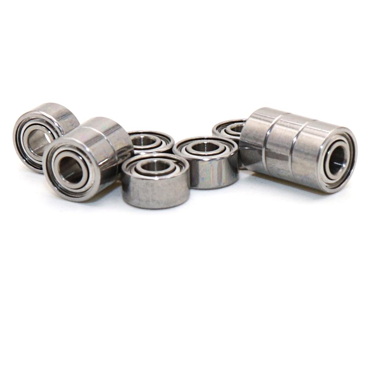 10 قطعة MOCHU 683ZZ P5 3x7x3 صف واحد كرات تروس الحمل عميقة الاخدود ABEC 5 الدقة مزدوجة محمية