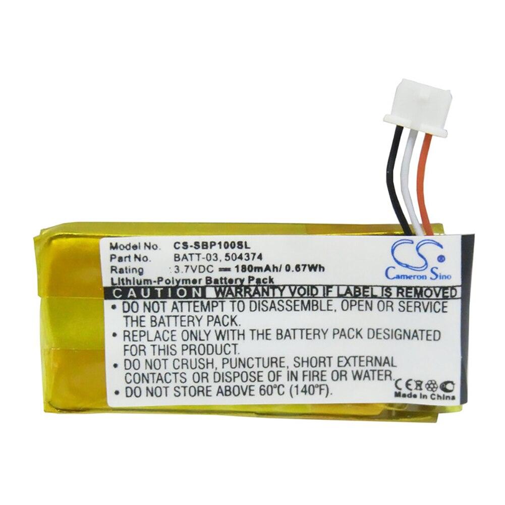 Аккумулятор Cameron Sino 180mA для Sennheiser DW Pro1,DW Pro2,DW Pro2 ML,DW SD Pro1,DW10,DW20,DW30 504374,BATT-03