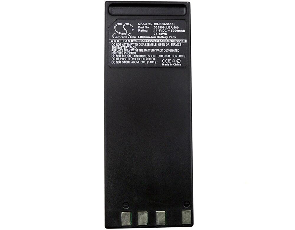 Cameron Sino 5200mA Battery for Sennheiser  LSP 500 Pro  505596,LBA 500