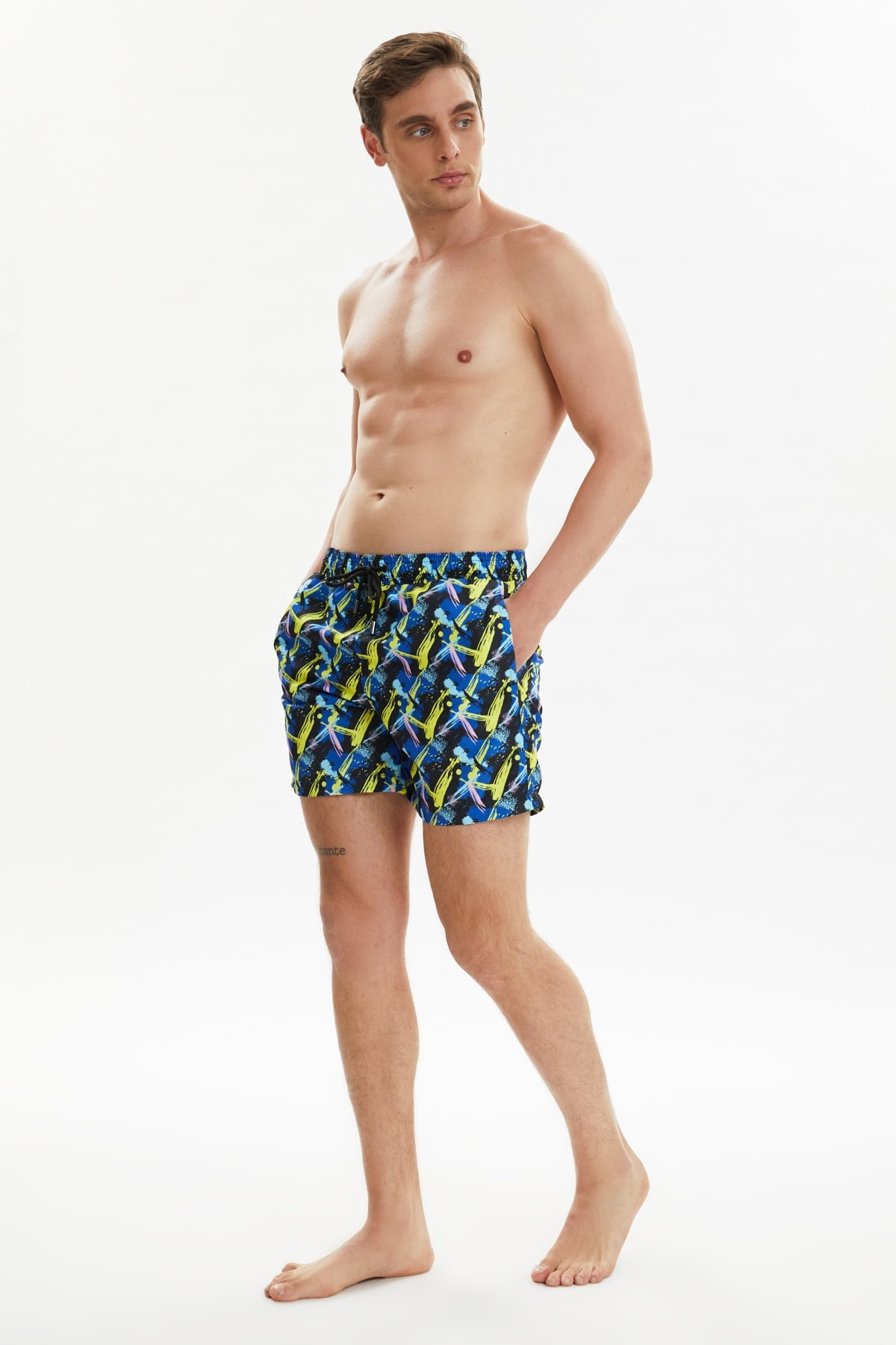 Trendyol Male Printed Sea Shorts TMNSS21DS0022