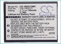cameron sino 740ma battery for panasonic hx dc1eb rhx dc1eb whx dc1ef hhx dc1eg h vw vbx070vw vbx070gkvw vbx070 w