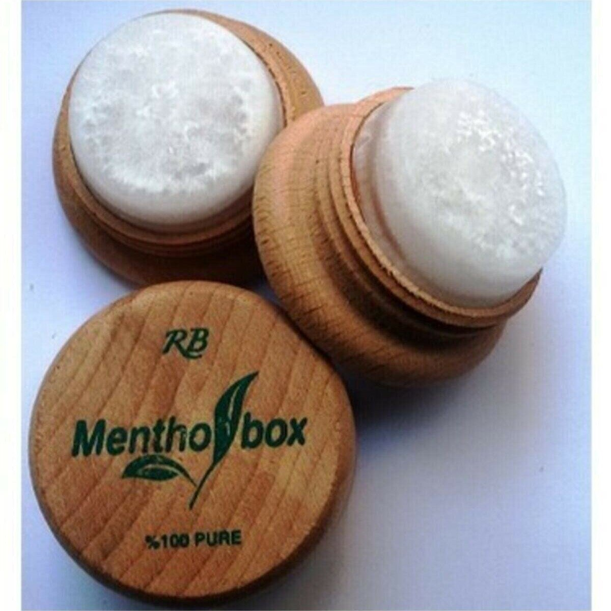 Menthol stone massage migraine headache Spa miracle of 100 natural product 7 G