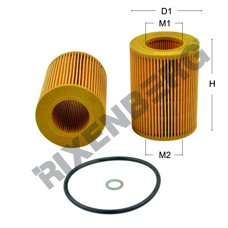2002 Hyundai Accent Oil Filter