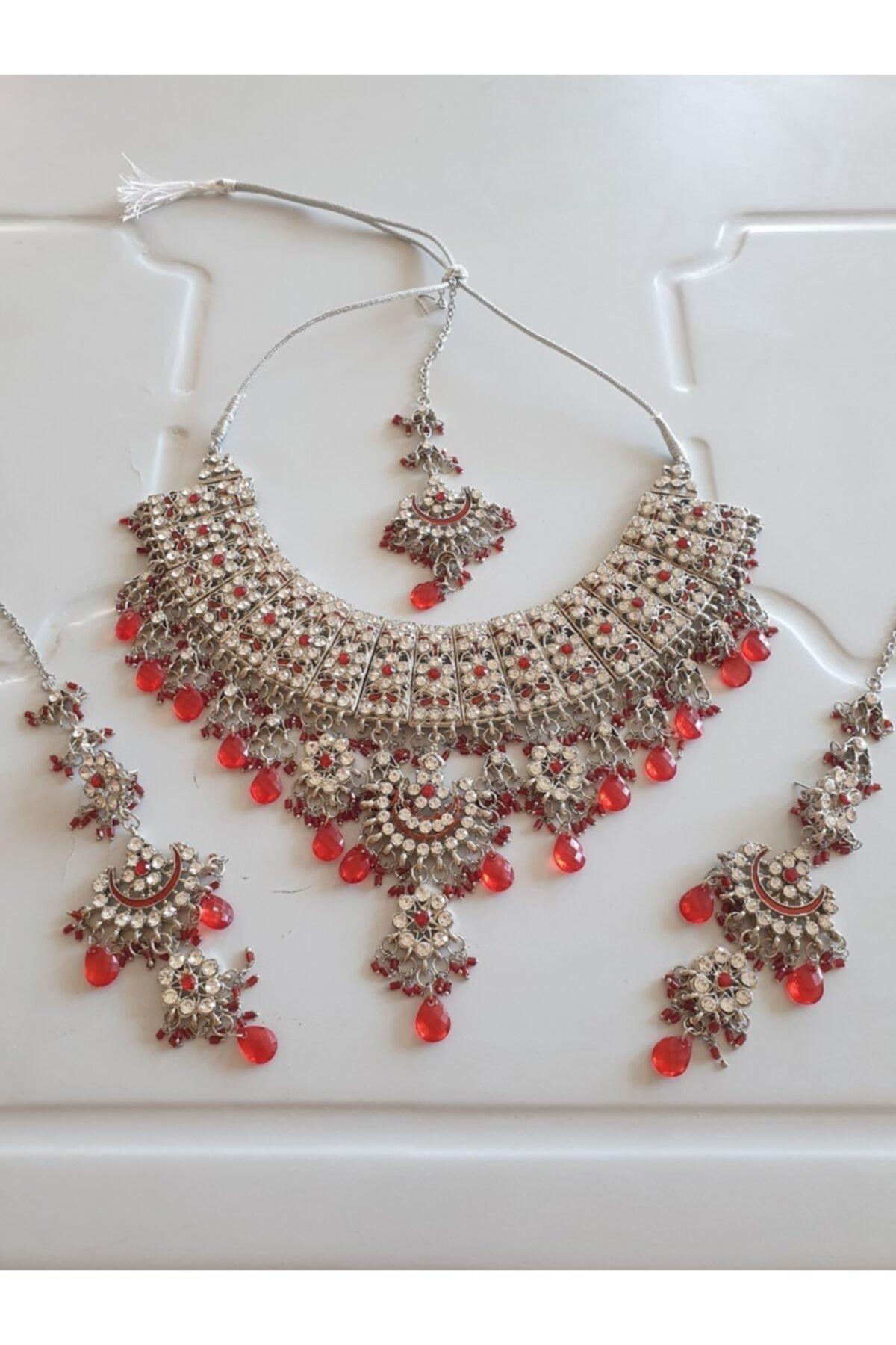 مجوهرات الأزياء النسائية مجموعات المجوهرات الهندية
