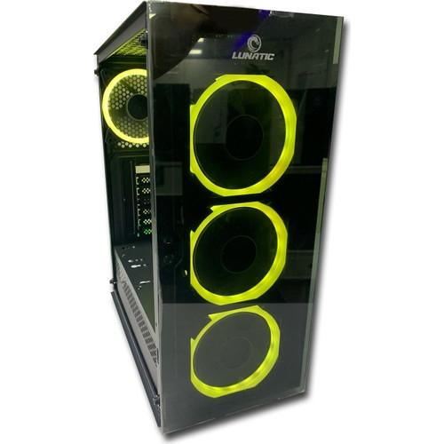 Lunatic Albatross 4 RGB Fan Tamperli Glass mATX Computer case