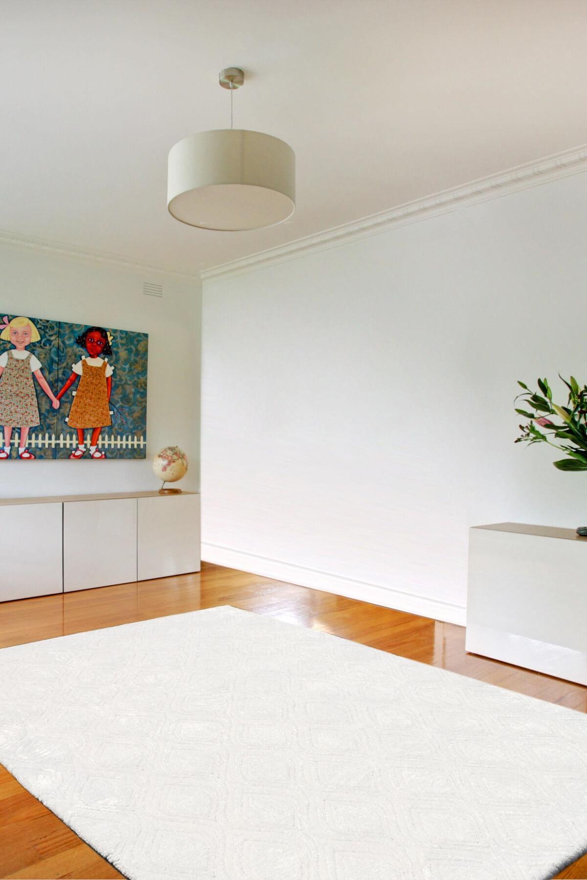 ديكور المنزل غطاء للسجاد السجاد نسيج السجاد غطاء بالتنقيط الأبيض