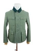 guwa 097 wwii german m43 modified heer em fieldgrey wool tunic feldbluse