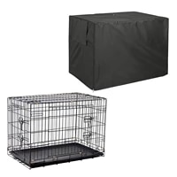 universal fit dog wire crate cover dog cage rainproof dust covers