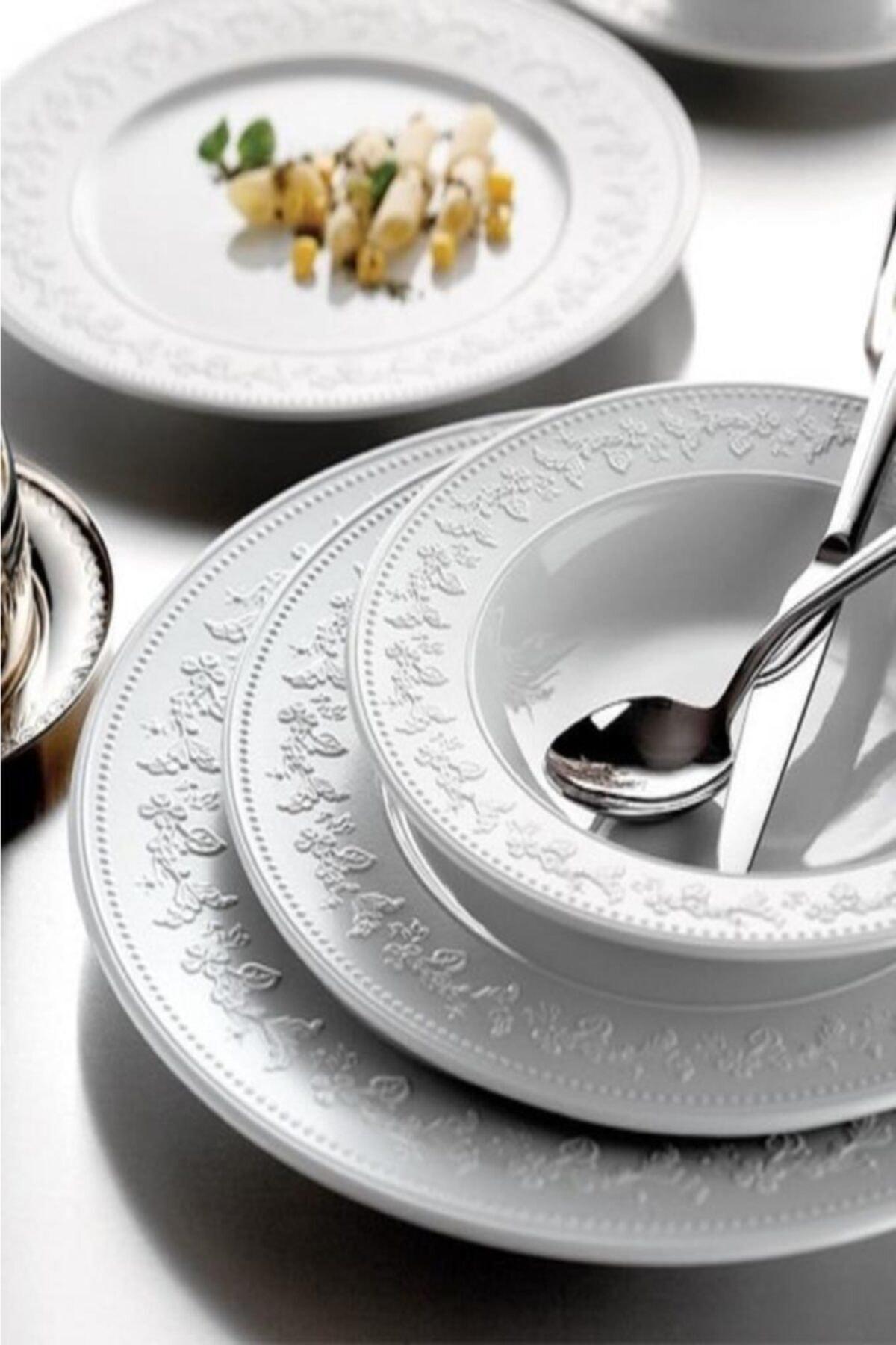 Luxury new model new dinnerware set dish set Silvia Dinnerware Set 24 Piece dinnerware
