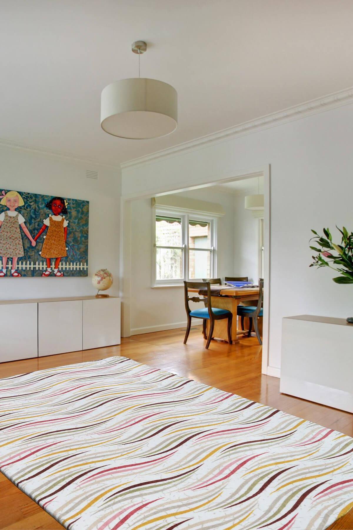 ديكور المنزل غطاء للسجاد السجاد النسيج السجاد غطاء قوس قزح
