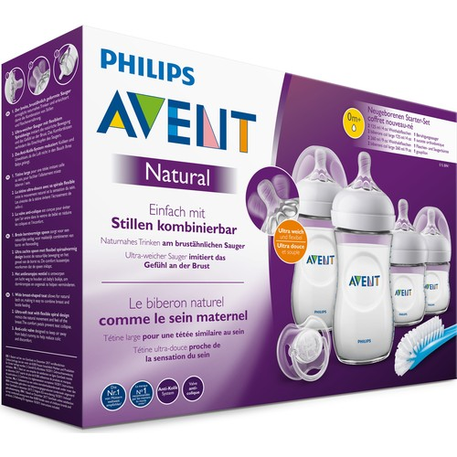 Philips Avent Natural PP Newborn Gift Set SCD301/01