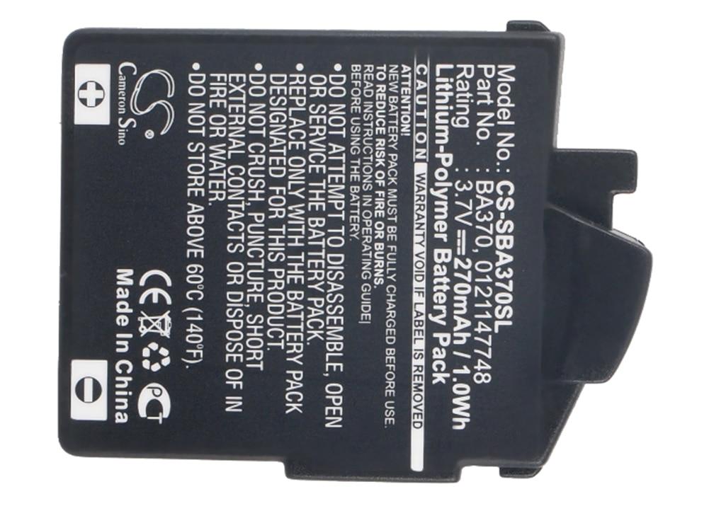 Аккумулятор Cameron Sino 450 мА для Sennheiser MM 550,MM 450-X,MM 500-X,MM 0121147748, MM-550-X 370,BA PX,BA370,BA-370PX