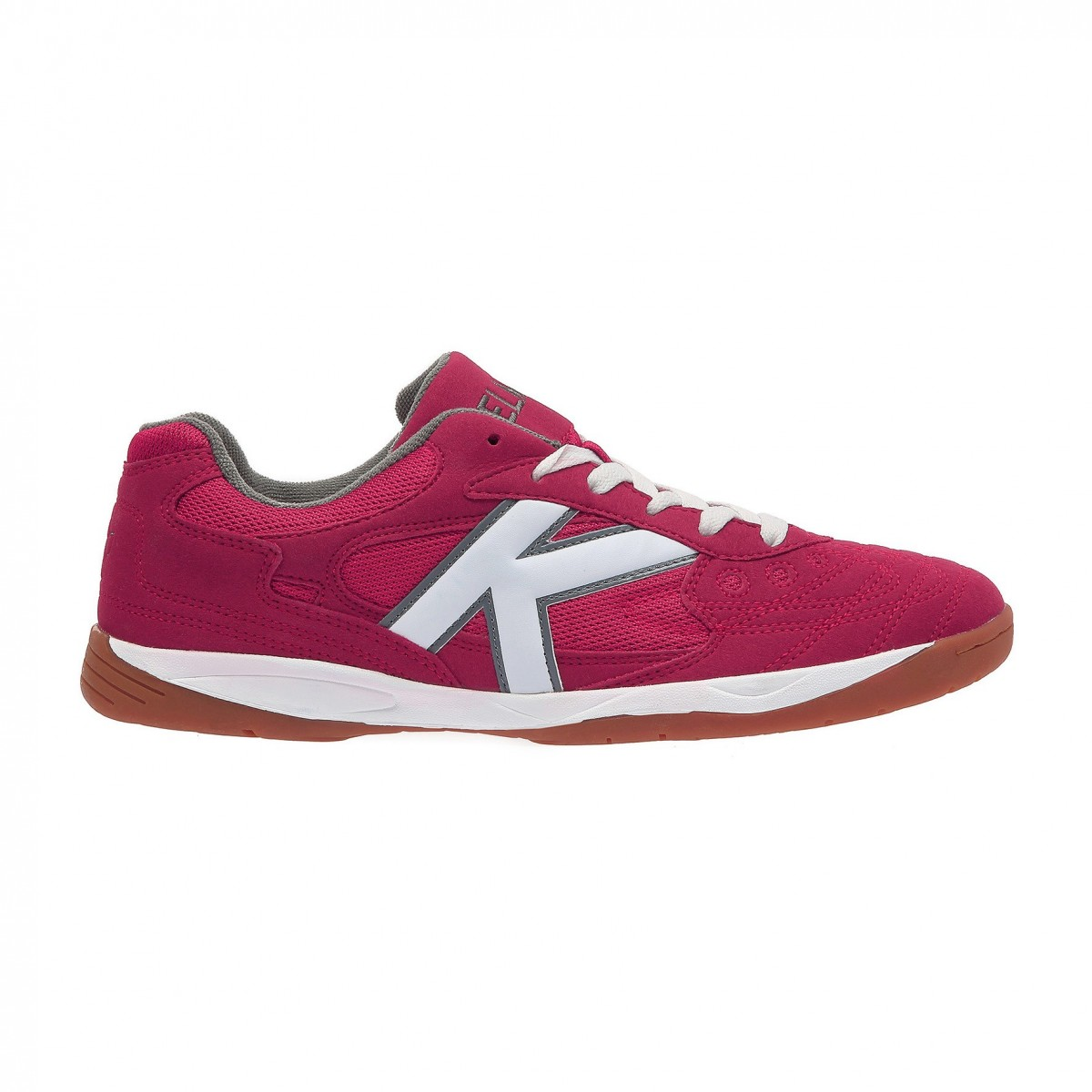 Kelme shop official Indoor Cup pink soccer shoes room Unisex made in Textile-leather-synthetic 55257-130 autumn-I