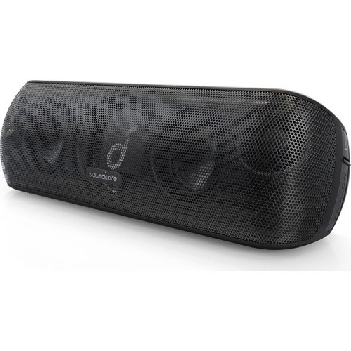 Anker Soundcore Motion+ Wireless HiFi Bluetooth Speaker 30W Stereo Sound IPX7 Water Resistance Up to 12 Hours Charge Black