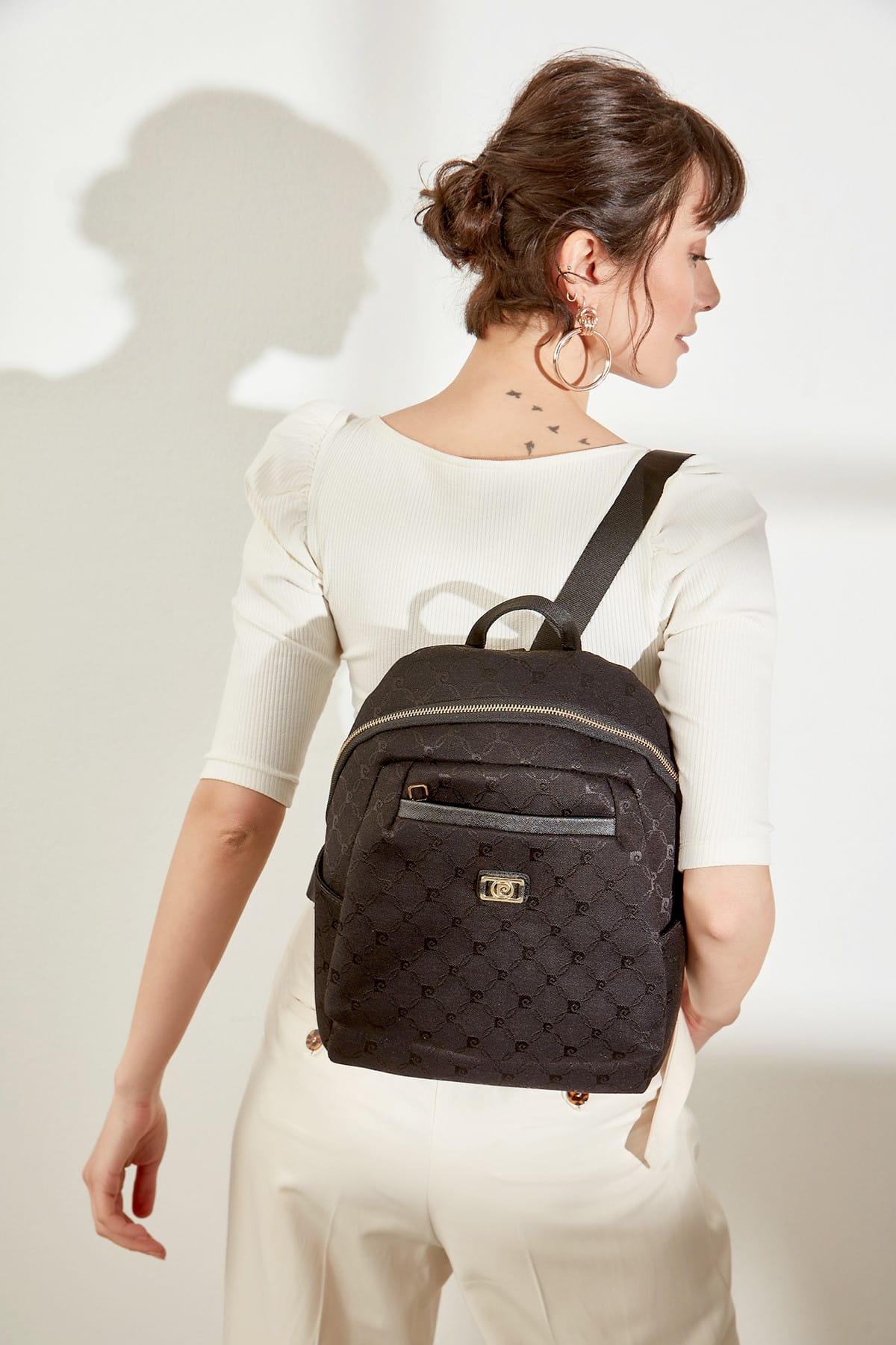 Черный рюкзак 05 PO16K1184, женская сумка, женский рюкзак, женская сумка, женская кожаная сумка для покупок