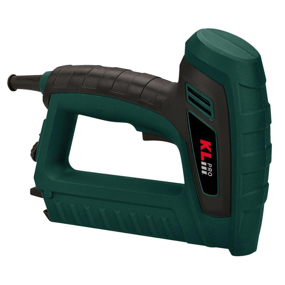 KLPRO KLZC6030E Electric Professional 15mm Nail and 8/16 Stapler Fastening Machine EU Plug Type