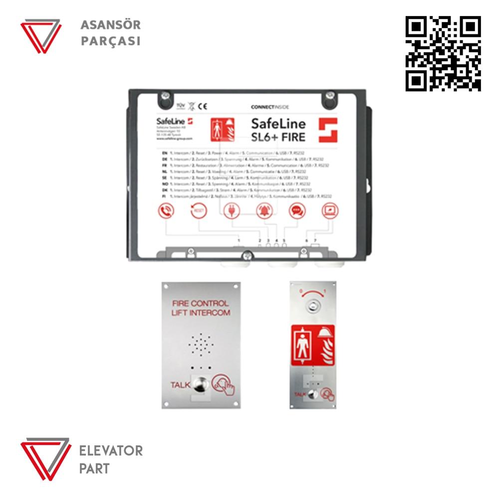 SAFELİNE -  Safeline Sl 6 Yangın