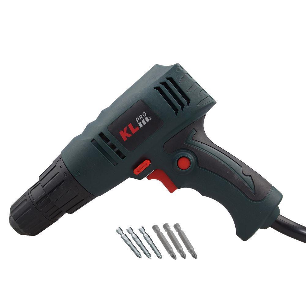 Klpro Klnm1008 260 Watt 10 Mm Professional Shockless Torque Adjustable Drill, Z speed 0-800