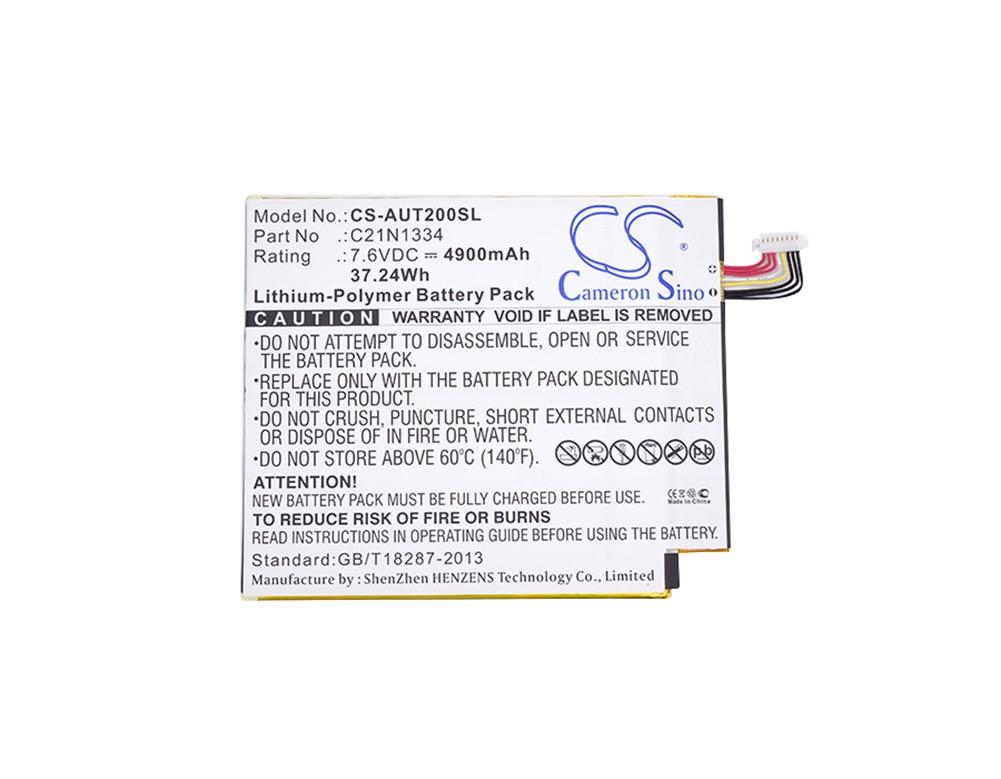 Generic 4900mA بطارية ل Asus T200TA-DB12T-CA ، محول كتاب T200TA ، محول كتاب T200TA 12