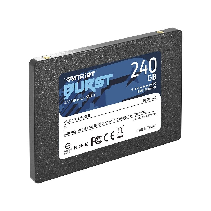 "Patriot Burst PBU240GS25SSDR 2.5"" 240GB SATA 3 SSD enlarge"