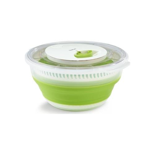 Складная Сушилка для салата, зеленый-Белый-2100115859