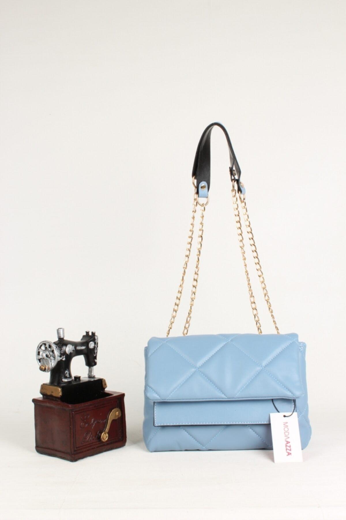 New Season 2021 Fashion Special Design Women S Blue Chain Strap Shoulder Bag Cross-Body Trend Handbag