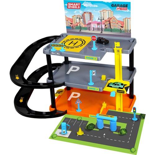 Умные колеса, 3-слойный комплект для парка гаража, Умные колеса, 3-слойный комплект для парка гаража
