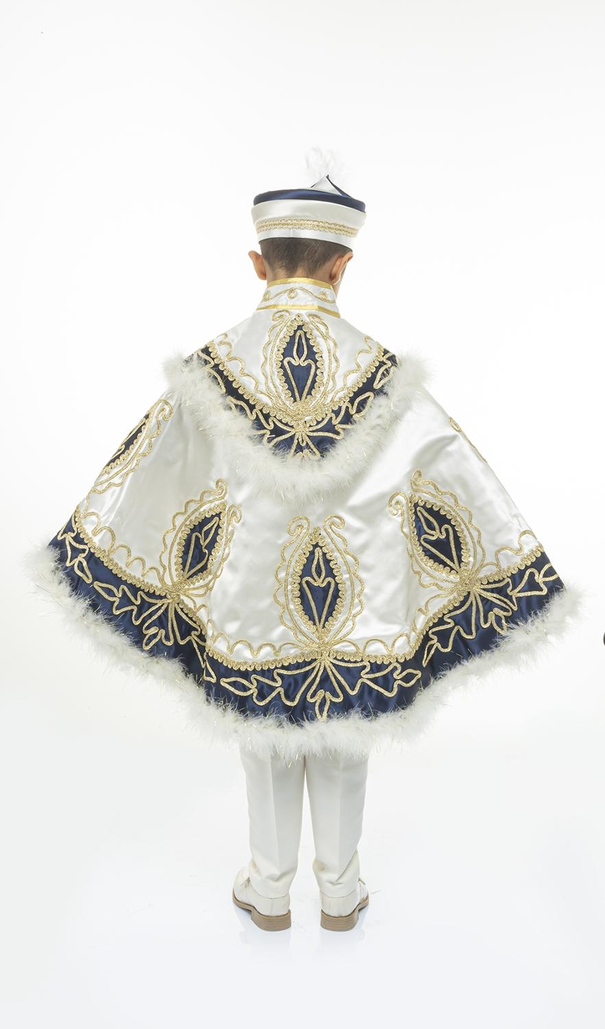 Sultan Cape Prince Sunnet Suit Kid Dress 1-14 Age Birthday Party Event Costume Child Muslim Islamic Turkish Tradition Special enlarge