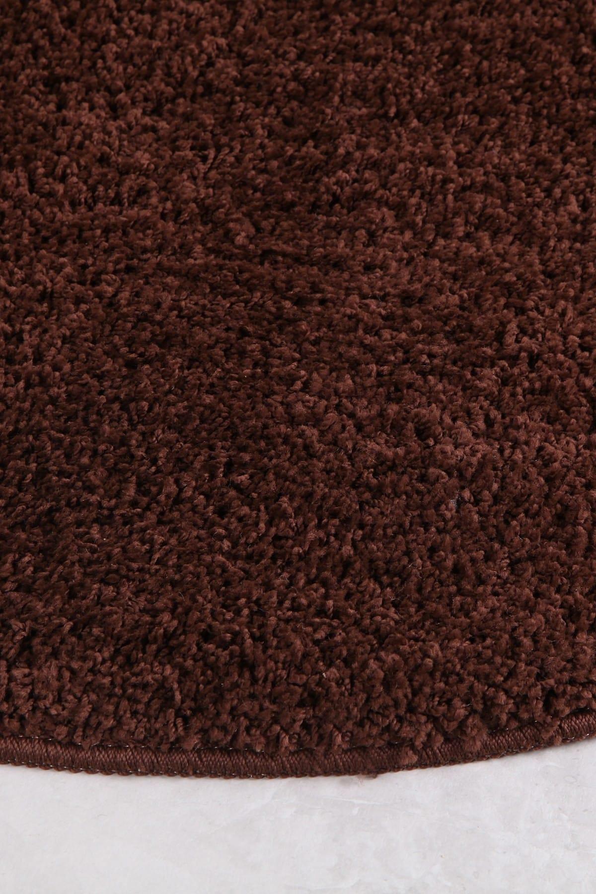 Marlyn Ø 100 Cm Coffee Bath Mat enlarge